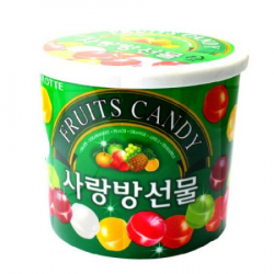 Леденцы ассорти фруктовые Fruits Candy lotte